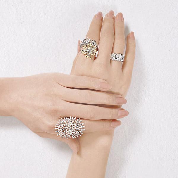 Ring -花-  silver925