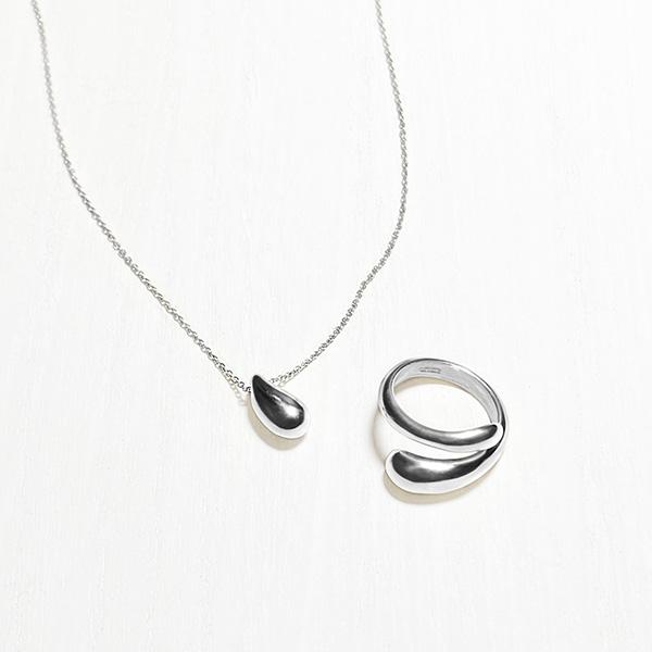 Honey necklace (silver)
