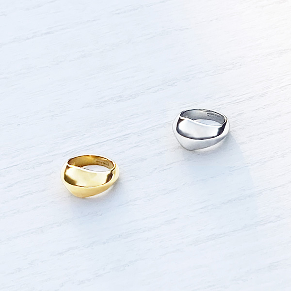 Chunky ring (gold)