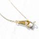 [K10YG] Ruby necklace
