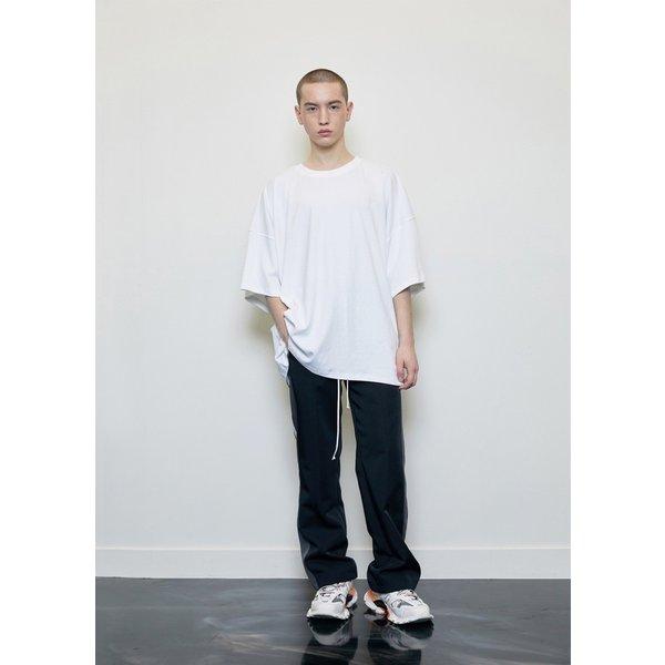 DPRIQUE ディープリーク オーバーサイズ Tシャツ ホワイト Oversized T-shirt White