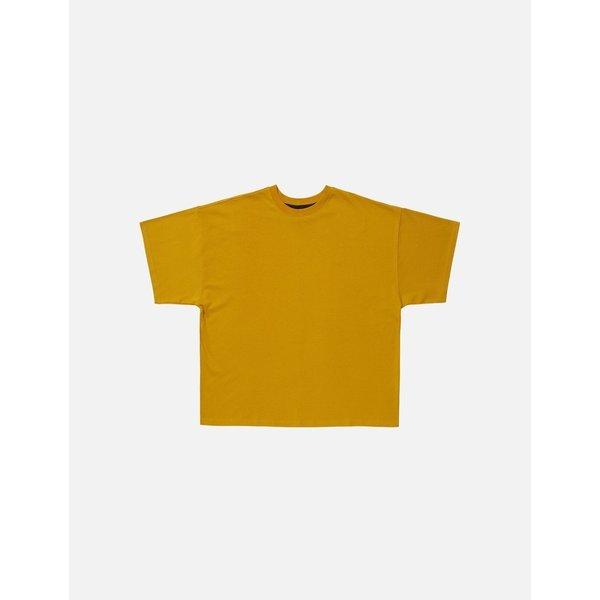DPRIQUE ディープリーク オーバーサイズ Tシャツ イエロー Oversized T-shirt Yellow