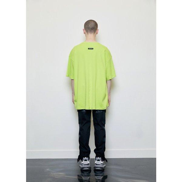 DPRIQUE ディープリーク オーバーサイズ ヴィジブルTシャツ ネオン Oversized Visible T-shirt Neon