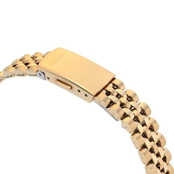 CITIZEN シチズン EU6062-50D レディース 腕時計 スワロフスキーベゼル Classic Gold Silver Watch 25mm