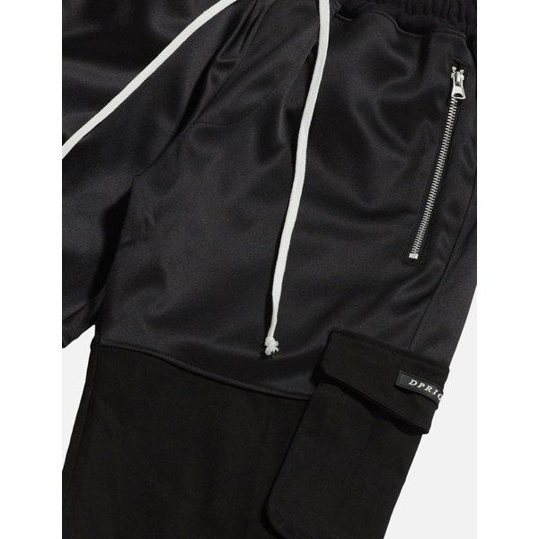DPRIQUE ディープリーク カーゴ ジョガーパンツ ブラック Cargo Jogger Pants Black