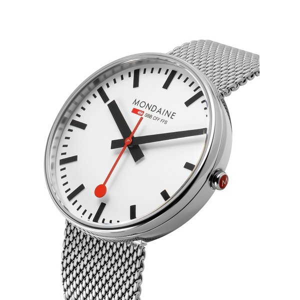 MONDAINE モンディーン MSX.4211B.SM Gaint BackLight メンズ 腕時計 Casual Metal Watch 42mm