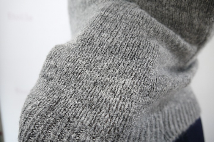 【新色】GRISHKO メリノウール混合 ニットセーター 06205