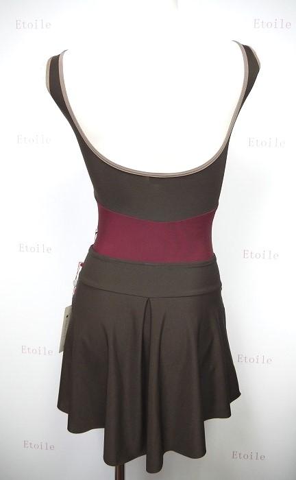 YUMIKO Isabelle N-espresso プルオンスカート(ショート)
