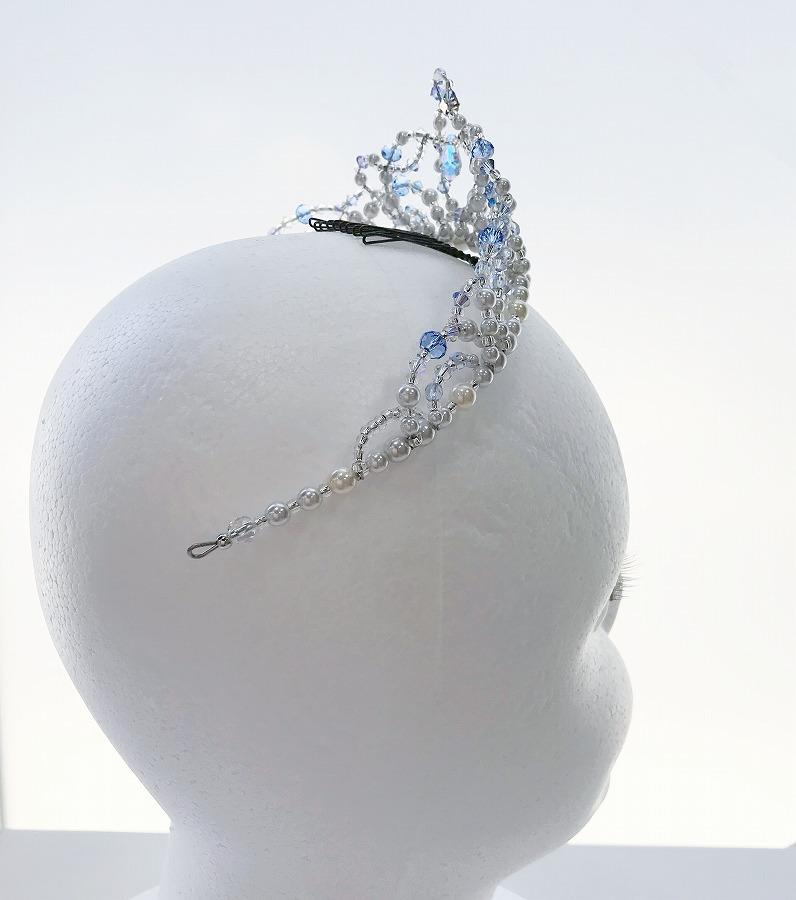 オーダー製作〜Ballet Tiara Lotus〜 オリジナルバレエティアラ ブルー