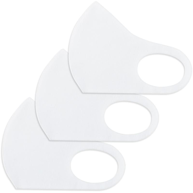 夏のレッスンにおすすめ!ひんやり接触冷感マスク(3枚入り)