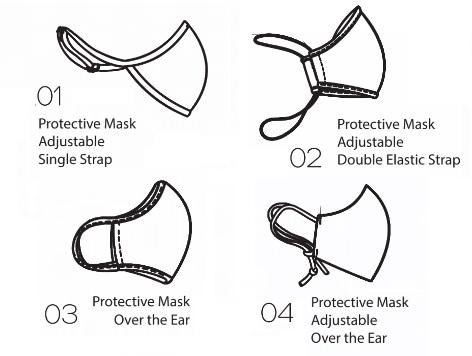 【4型】BalletRosa プロテクティブマスク 04