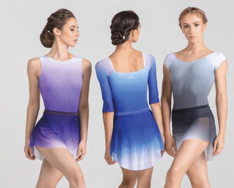 Ballet Rosa グラデーションプルオンスカート MARJORIE