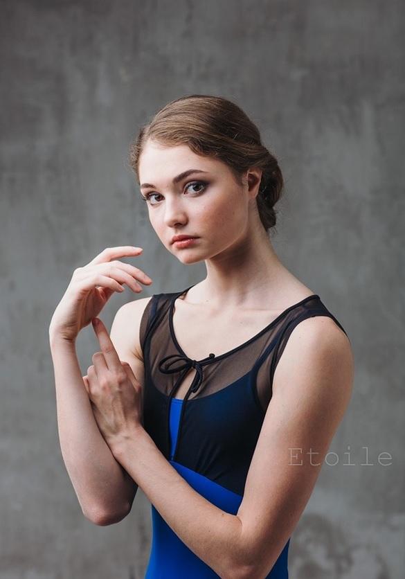 Grishko 〜Bolshoi stars コレクション�〜 メッシュタンクレオタード DA1801M