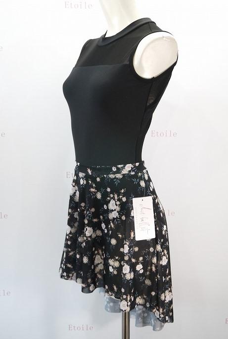 【Chic Ballet】 Cassandraスカート Black Garden