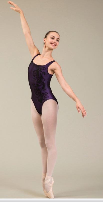 Ballet Rosa ノースリーブレオタード INDIA