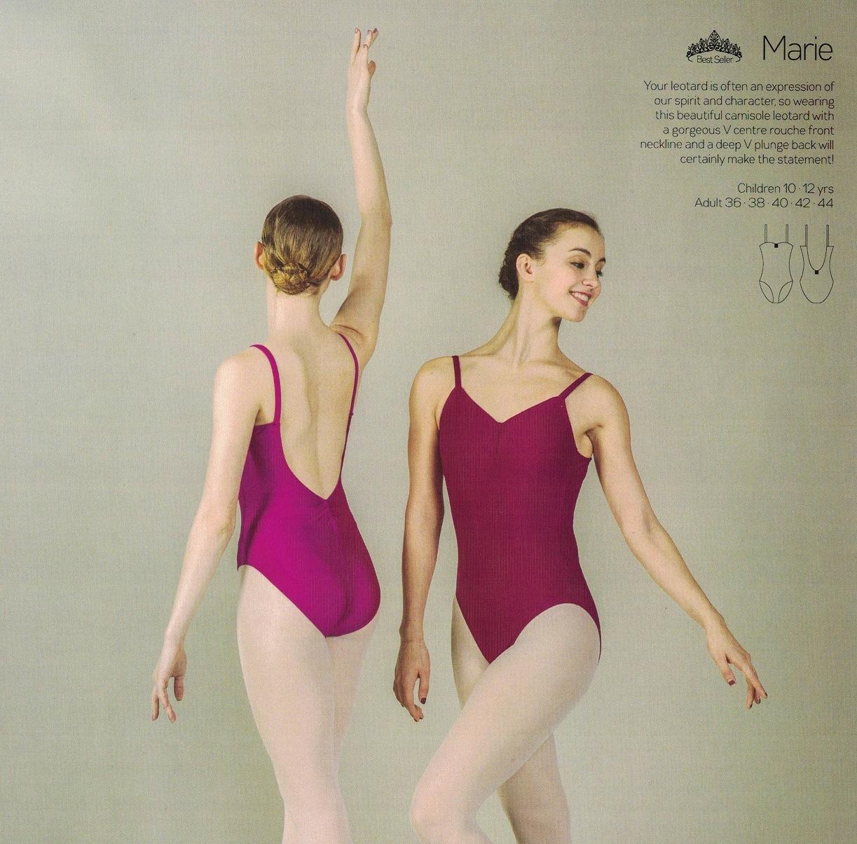 【お好きなカラーで作製いたします】Ballet Rosa MARIE キャミソールレオタード