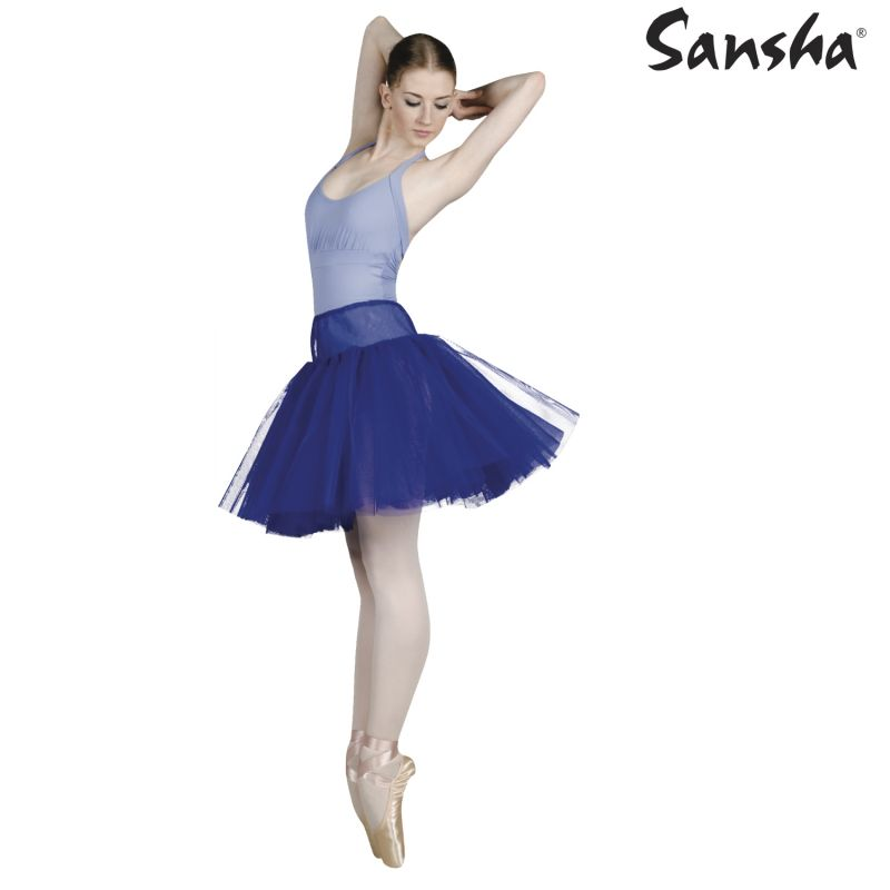 SANSHA 練習用チュチュスカート TELMA DF0701
