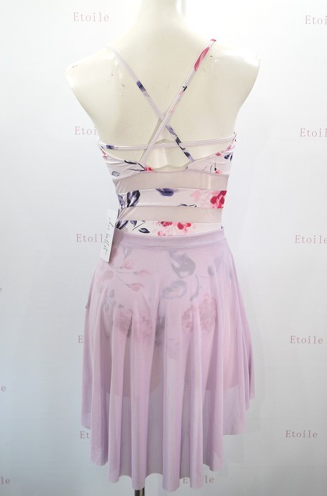 【Chic Ballet】 Danielleレオタード Floral Love