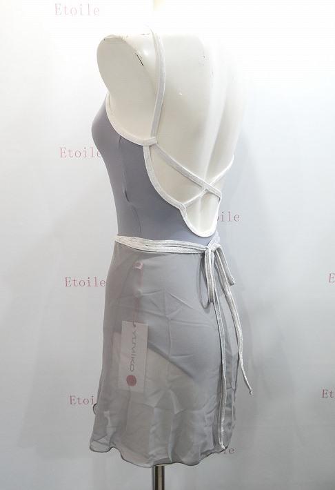 YUMIKO シフォンスカート PAT  G-Silver/V-Silver ロング