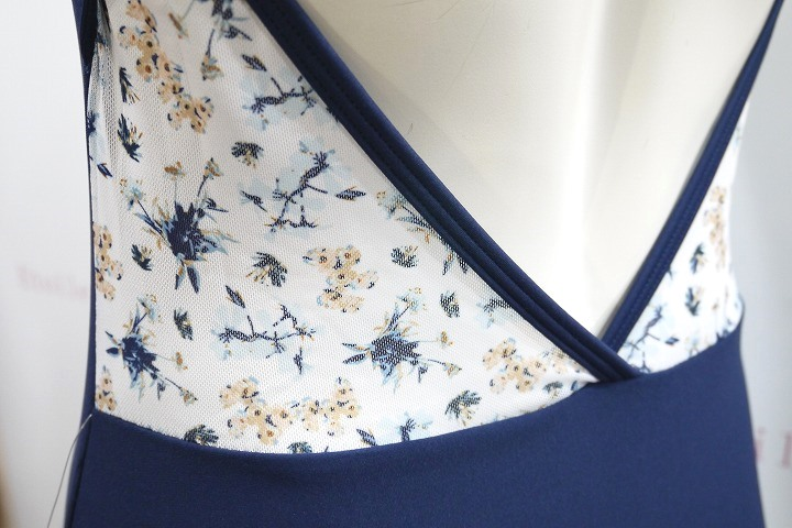 【Chic Ballet】 Gisselleレオタード Navy Meadow