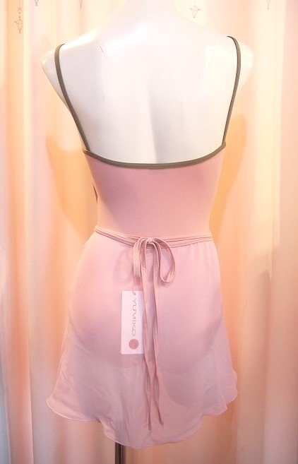 YUMIKO シフォンスカート PAT G-Rose/C-DustyRose ロング