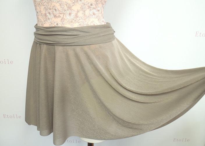 【新色】DD 美しいシルエットが魅力的♪ブリリアントパール プルオンサーキュラースカート