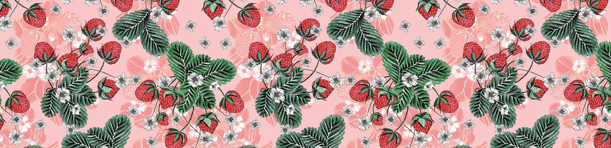 【数量限定】Ainsliewear リボンレオタード Summer Strawberry 1014SS