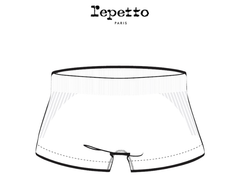 repetto シームレスショートパンツショーツ A0087
