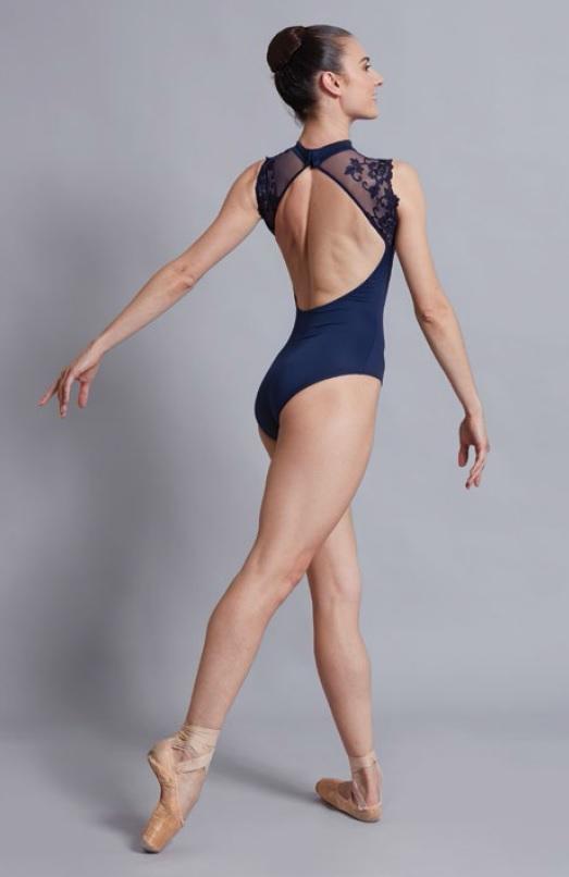 【Kids】Ballet Rosa レーススリーブレオタード BERENICE ベレニス