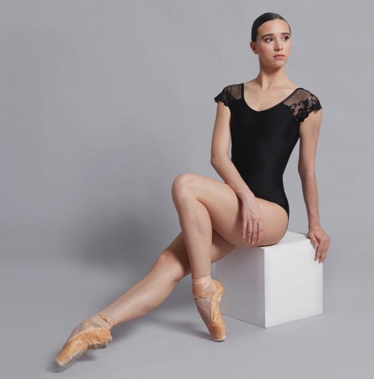 【新色】Ballet Rosa レーススリーブレオタード JOSEPHINE  ジョセフィーヌ