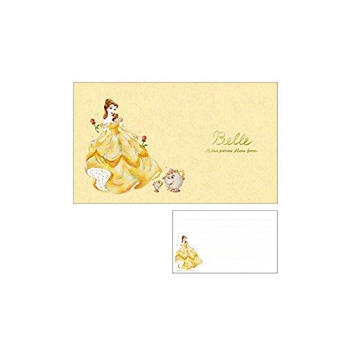 Disney  便箋 ベル/ラプンツェル