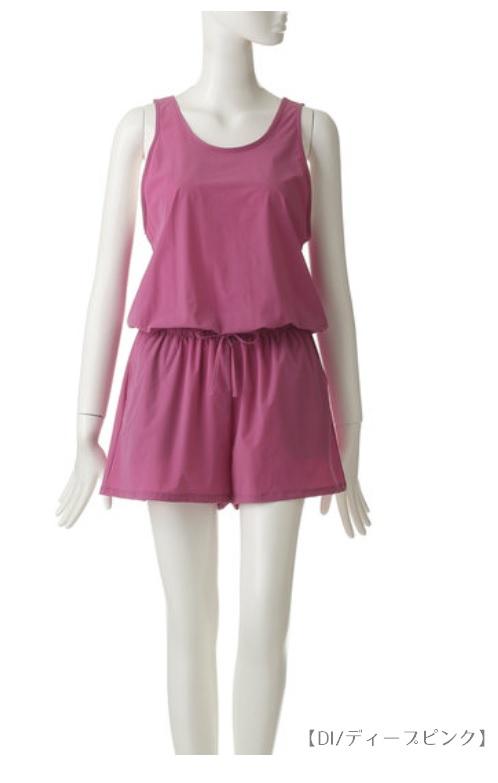 DANSKIN ADVANCE CLOTHショートオール DW39105
