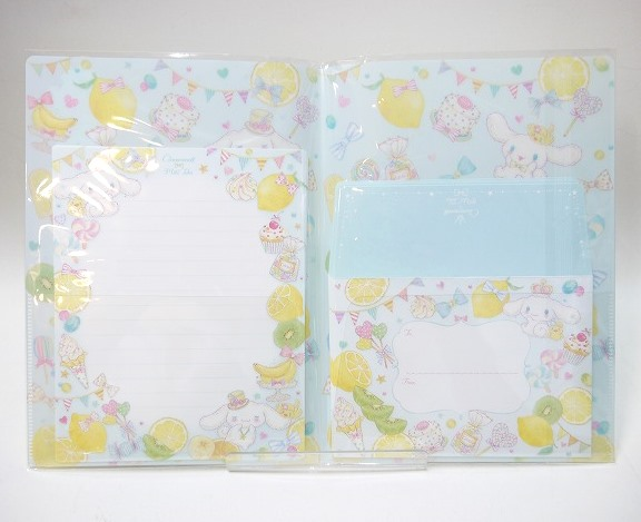 【4種】たけいみき×サンリオ ファイル付きレターセット
