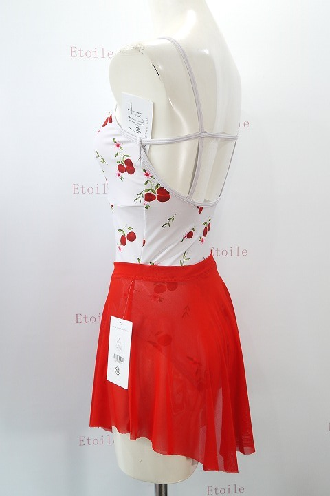 【Chic Ballet】 Alyviaスカート RED