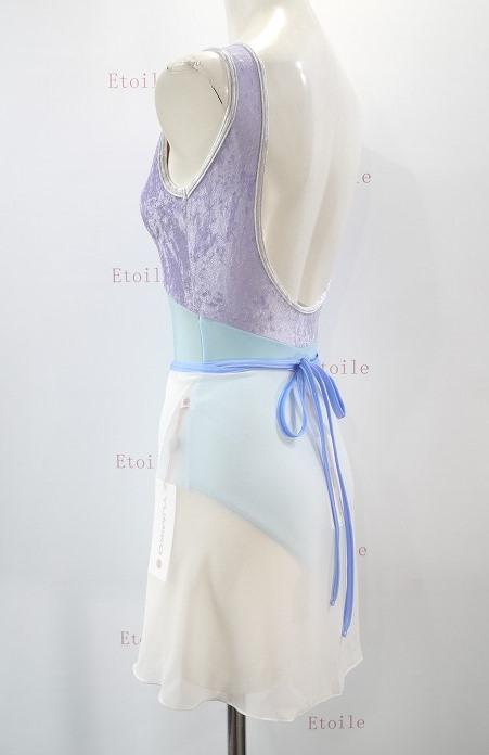 YUMIKO シフォンスカート PAT G-Antique N-Moontide ロング