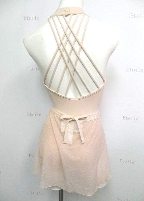 【限定商品】CAPEZIO ドットメッシュ巻きスカート 11302W