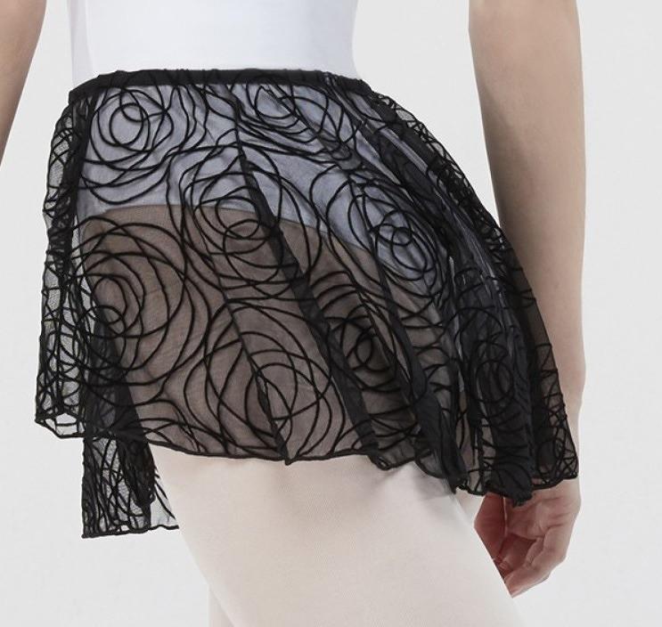 【ラストチャンス★】WEAR MOI ベロアフロッキーチュール プルオンスカート OXALIS オキザリス