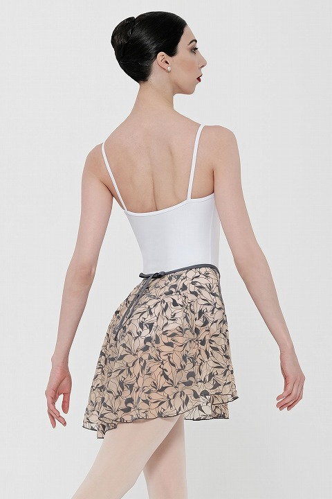 WEARMOI フロッキーチュールプルオンスカート(ミディアム丈) DRYADES