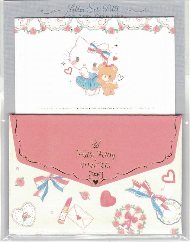 プレゼントに添えるメッセージカードに最適!たけいみき×サンリオ レターセットプチ