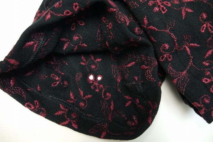 WEARMOI スカート付き刺繍ロングパンツ SKADA