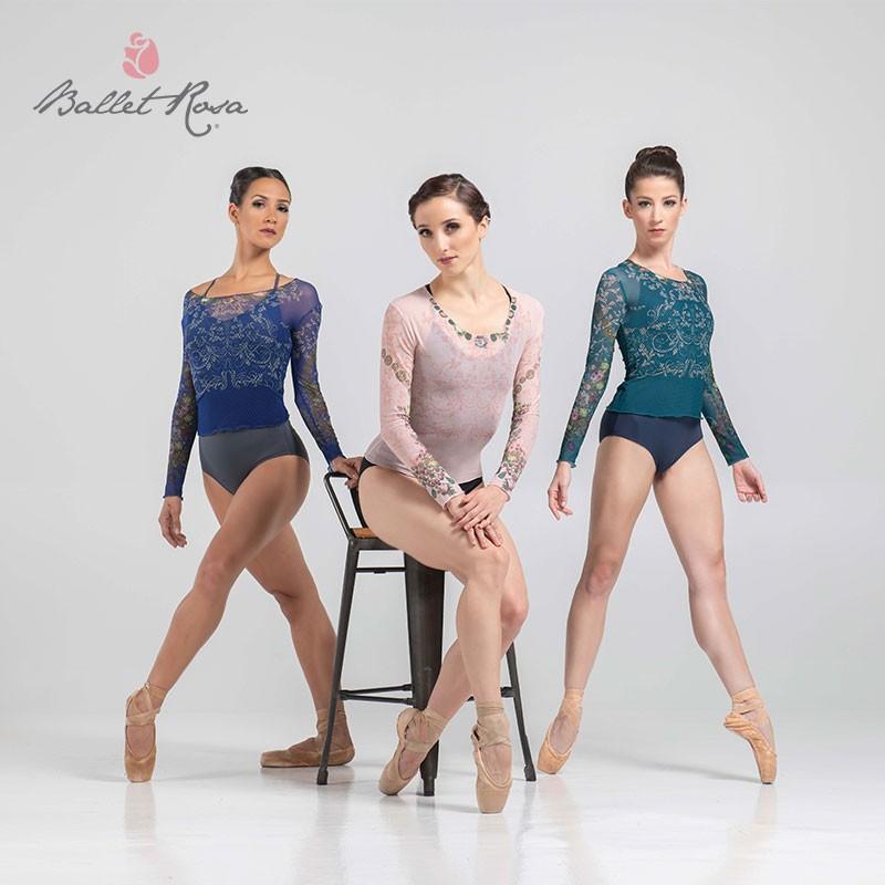 【新色】〜シアラヴォラコレクション〜 Ballet Rosa メッシュトップ BROOK ブルック