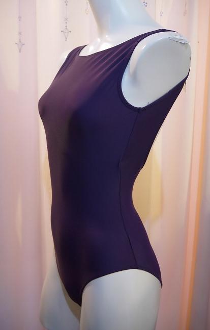 【お好きなカラーで作製いたします】Ballet Rosa ボートネックレオタード BELLE(ライクラ)