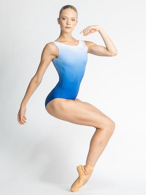 Ballet Rosa グラデーションタンクレオタード MIELLE