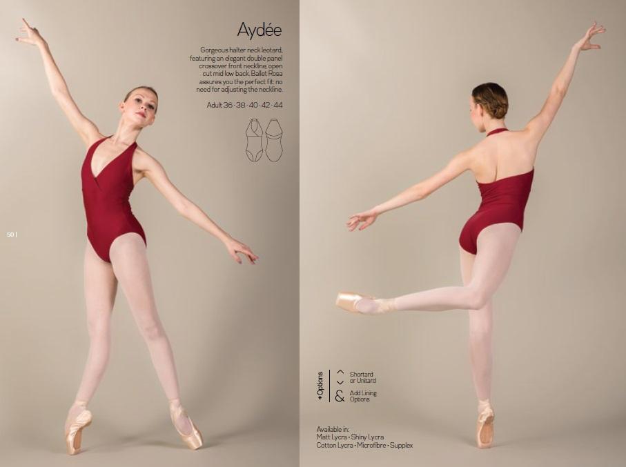 【お好きなカラーで作製いたします】Ballet Rosa ホルターネックレオタード AYDEE