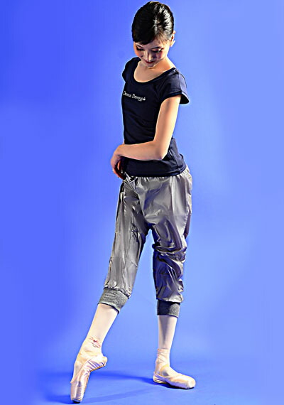 DD ウエストと裾のリブが可愛い!ヒートアップサウナ・ミディアムパンツ