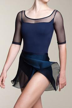 Ainsliewear  Wrap Chiffon Skirt エインズリーウェア シフォン巻きスカート AW501