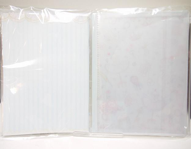 たけいみき B5ノート付きカバーファイル