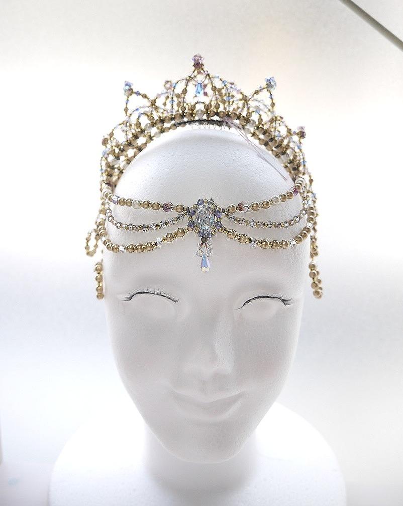 オーダー製作〜Ballet Tiara Lotus〜 オリジナルバレエティアラ