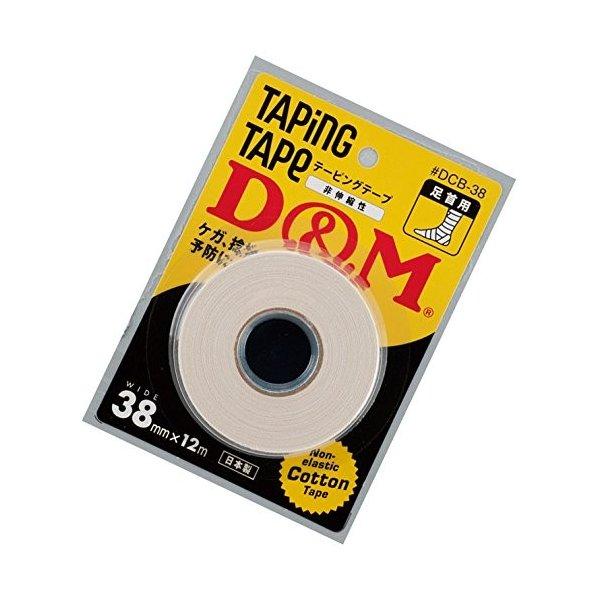 テーピングテープ D&M 38mm×12M  足首用