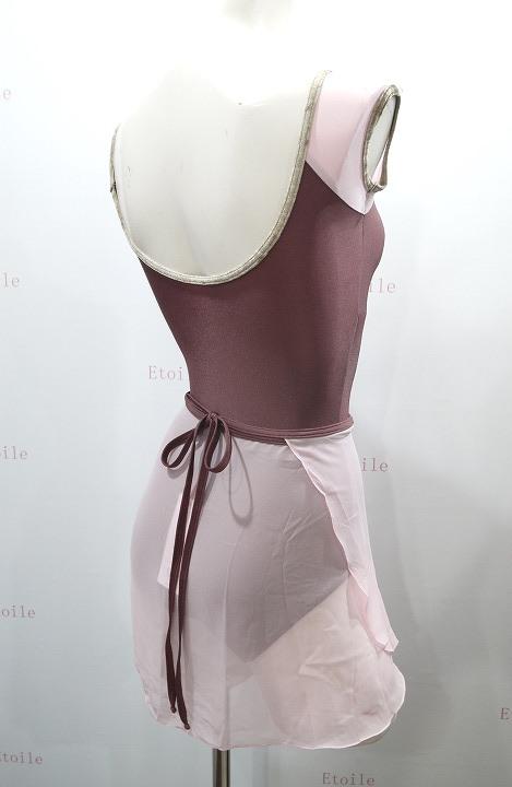 YUMIKO シフォンスカート PAT G-Rose/N-Phoenix ロング
